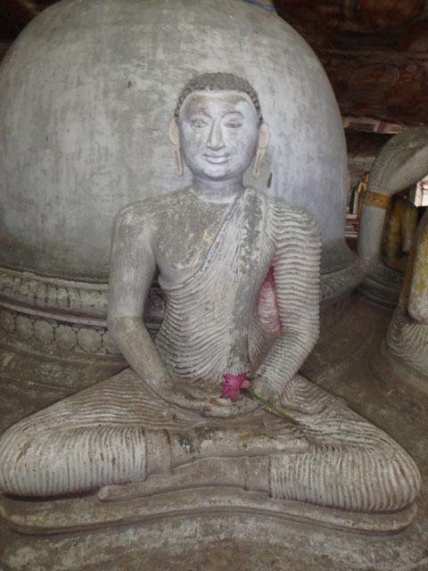 Dambulla Caves Buddha